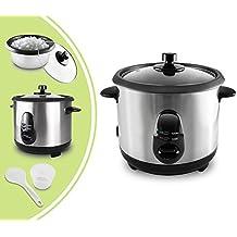 Leogreen - Olla Arrocera, Cocina Multi, 1 Litro(s), Material: Tapa de vidrio