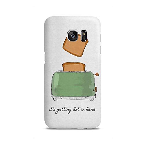 artboxONE Samsung Galaxy S7 Premium-Case Handyhülle It's Getting Hot in Here von Orara Studio