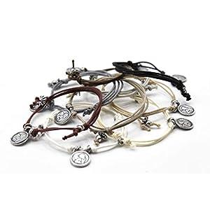 ANGEL – Handgefertigtes Armband für Damen und Herren mit Schutzengel Anhänger. Verstellbarer Verschluss. In…