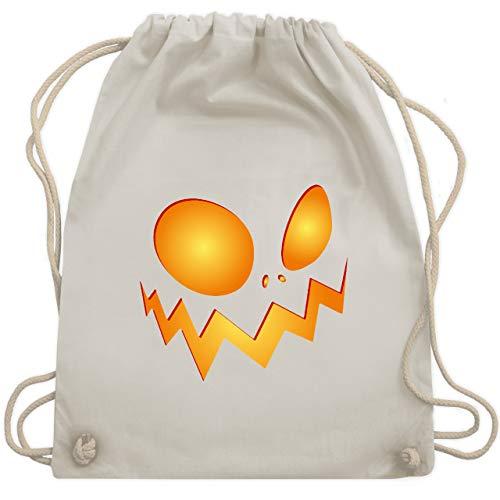 Kürbis Große Kostüm - Halloween - Kürbisgesicht groß Pumpkin - Unisize - Naturweiß - WM110 - Turnbeutel & Gym Bag