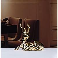 pengweidecoraciones para el hogar de estilo europeo ornamentos cerámicos ciervos , 2 , small