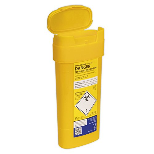 SEALEY SSP006Kanülenabwurfbehälter 0,6l