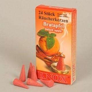 Räucherkerzen - Bratapfel - Original Erzgebirge Räuchermann - Knox