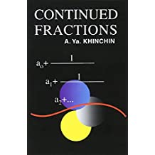 Continued Fractions (Dover Books on Mathematics)