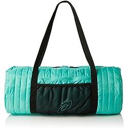 Asics entrenamiento Essentials bolsa plegable, bolsa, unisex, color Azul - Aqua Mint/Black, tamaño Talla 1