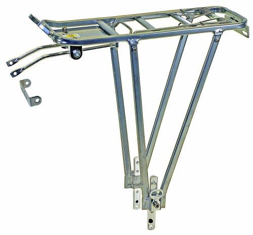 """Unbekannt Ventura 440157 Portapacchi in alluminio per 24/2,4 cm, Argento, per 24/26/28"""" [Germania]"""