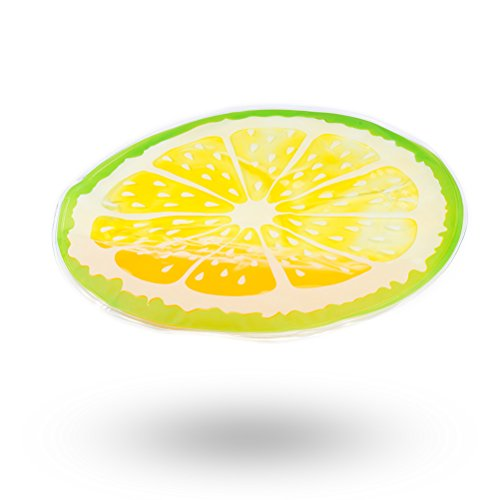 iHOY HundeküHlmatte, Ungiftig Gel SelbstküHlpad Fruchtform PVC Wasserdicht Runde Eis Kissen Coole...