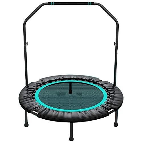Jumping Trampoline Boden Bungee Sport Trampolin Faltbares kleines Fitness-Sprungbett mit Griff 101 cm / 40 Zoll Körperübung und Cardio-Workouts-Sport-Gewichtsverlust-Gerät