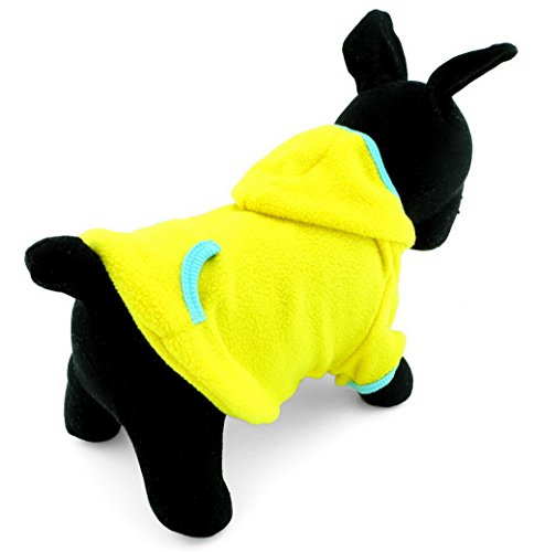 ranphy Haustier Kleidung Hund Hoodies für Hunde Katzen BLANKO Fleece Sweatshirt PUPPY Jumper Sport Stil (Kaufen Billige Designer-schuhe)