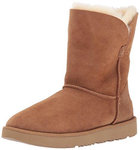 UGG Australia Damen Classic Cuff Short Stiefel, Marrone (Chestnut), 40 EU (Stiefel Classic Chestnut)