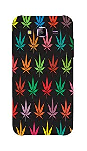 Back Cover for Samsung Galaxy E7 colorful marijuana