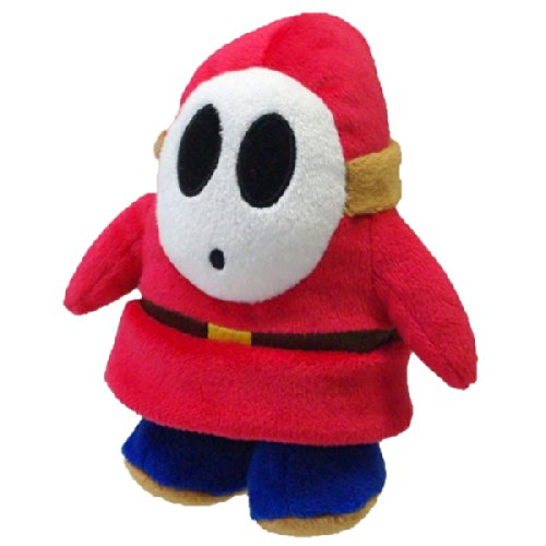 Super Mario - Shy Guy Plush - 14cm 5.5""