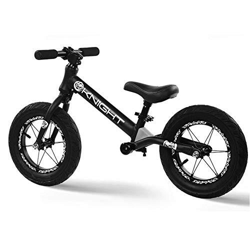 CHB Pedalless per Bambini Slide Auto in Lega di Alluminio 2-7 Anni Vecchio 12 Pollici per Bambini Equilibrio Auto Tapis roulant Sport Outdoor Esercizio Balance Bike,05H