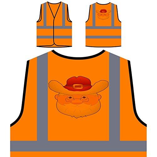 Orange Santa Kostüm - Fettes Santa Kostüm Personalisierte High
