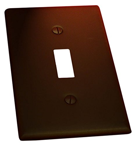 Residential Essentials Private Essentials 10813VB Single Switch Plate, 11,4x 7cm venezianischen Bronze (Golden-beleuchtung Bronze-beleuchtung)