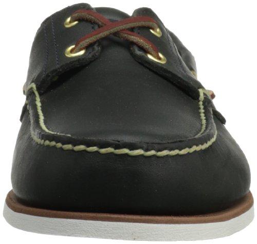 Timberland 74036, Chaussures Bateau Homme Bleu (Navy Smooth 74036)