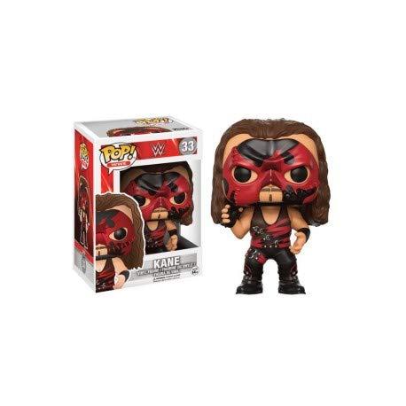 FunKo 13443–WWE Wrestling, Pop Vinyl Figure 33Red Suit Kane