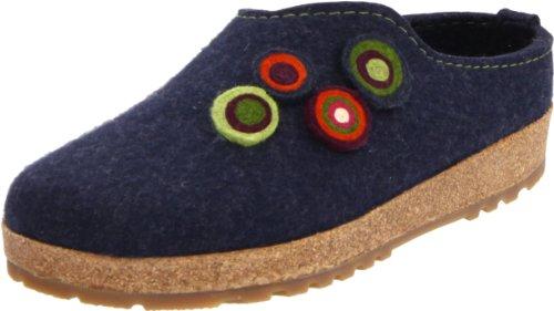 Haflinger Kanon 731023, Pantofole donna Blu (Blau (kapitän 79))