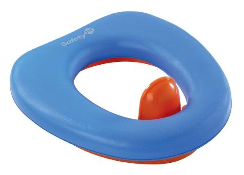 Safety 1st 32110026 Siège WC rembourré pour enfant Avec protection anti gouttes amovible Safety 1st