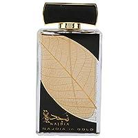 NAJDIA in GOLD Eau De Perfume by Lattafa 100 ML.