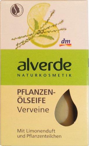 Alverde–Olivenölseife pflanzliches–Verbena BIO–100g