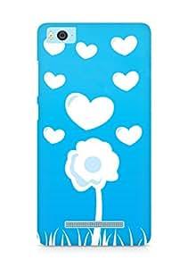 Amez designer printed 3d premium high quality back case cover for Xiaomi Mi5 (Love Flower)