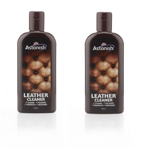 pack-of-2-astonish-leather-cleaner-polish-protector-restore-handbags-sofas-235ml