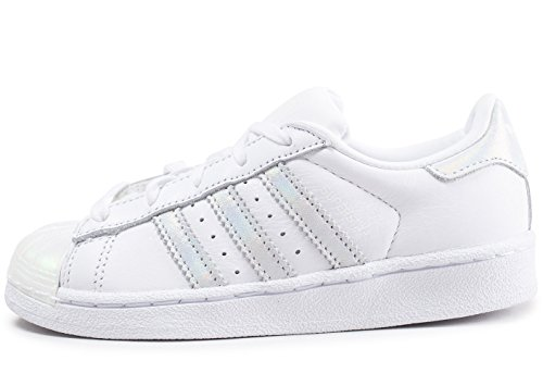 reputable site 03955 ef97c adidas Originals CQ2734 Sneakers Bambino Bianco 30