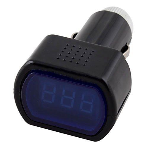 Premium Qualität Digital LCD Zigarettenanzünder Spannung Panel Meter Monitor Auto Volt VoltmeterCarry stone Lcd-panel-meter