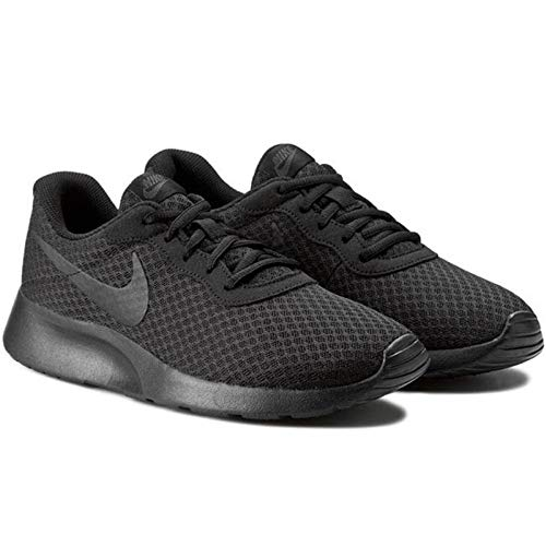Nike Herren Tanjun Laufschuhe, Schwarz Black-Anthracite 001, 43 EU