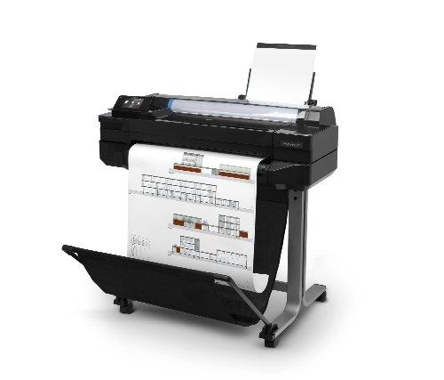 HP Designjet T520 ePrinter Series Großformatdrucker (61 cm (24 Zoll), 2400×1200 dpi, 1GB RAM, WiFi, USB 2.0) schwarz - 2
