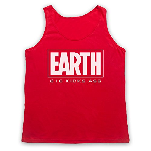 Inspired by Marvel Comics Earth 616 Kicks Ass Unofficial Tank Top Vest