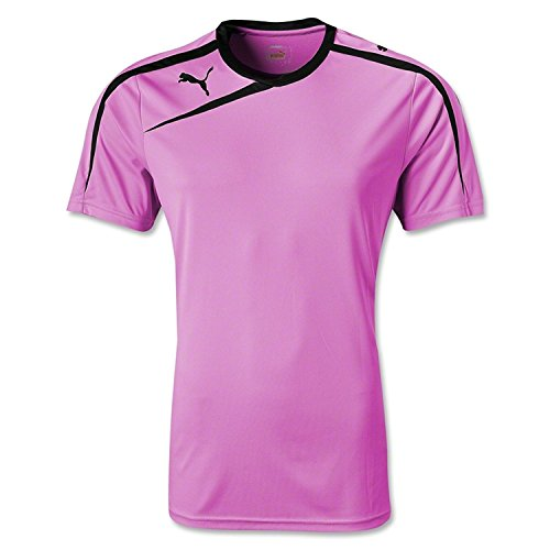 Puma Youth Spirit Jerseys Medium Fluo Pink (Crew Youth Tee)