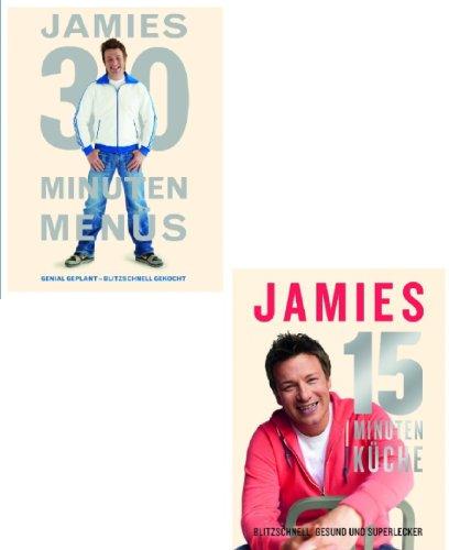 Oliver, Jamie: Jamies 15 Minuten Küche und Jamies 30 Minuten Menüs als Set