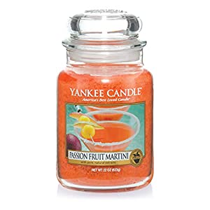 Yankee Candle Large Jar Scented Candle, Passion Fruit Martini, Up to 150 Hours Burn Time