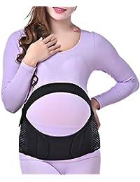 Zhhlaixing Cinturón de maternidad Comfortable Maternity Belt Pregnancy Support Waist Back Abdomen Belly Band Prenatal