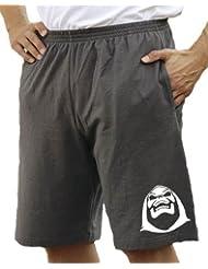 Touchlines Bermuda Short heather Skeletor - Pantalones cortos