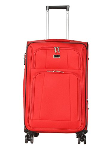 Giordano Polyester 20 cms Red Softsided Check-in Luggage (Oxford8301-RD20)