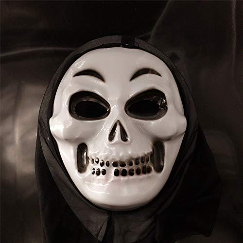 Horror Halloween Maske Herren Latex Gruselige Blutige Maskerade Neuheit Erwachsene Dämon Masken Perfekt für Fasching Karneval Kostüm Weihnachten Cosplay Kostüme (Alien Halloween Kostüm Weiblich)