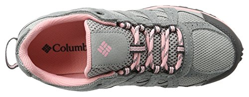 Columbia Youth Redmond, Chaussures de Running Compétition Fille Gris (Steam, Rosewater 088)