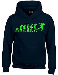 HANDBALL Evolution Kinder Sweatshirt mit Kapuze HOODIE Kids Gr.128 - 164 cm
