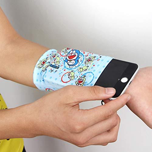 GuoHuii Multifunktionale elastische Handgelenk Tasche Laufen Handytasche Ändern Anti-Diebstahl-Tasche Männlich Sport Fitness Arm Tasche Arm Band