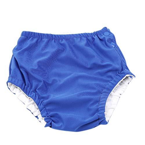 Eleusine BéBé Nager Couches Maillots De Bain Culottes Couches Lavables Pantalon De Piscine pour Infant Toddler Enfants (Bleu Marin)