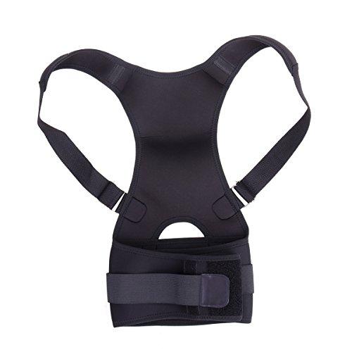 rosenice Körperhaltung Korrektur verstellbar Figur Haltung Corrector Zurück Brace–Größe XL