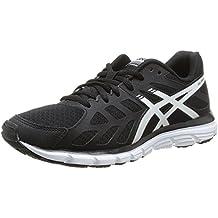 Asics Gel Zaraca 3 - Zapatillas de running para mujer, color Onyx/Snow/Blk, talla 36