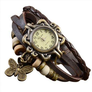Bentley-leder (Bentley's Bargain Warehouse Damen-Armbanduhr Leder 0754311363438)
