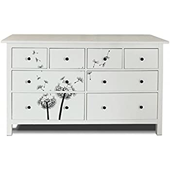 yourdea m bel folie f r ikea hemnes kommode 8 schubladen m bel aufkleber zum selbst. Black Bedroom Furniture Sets. Home Design Ideas