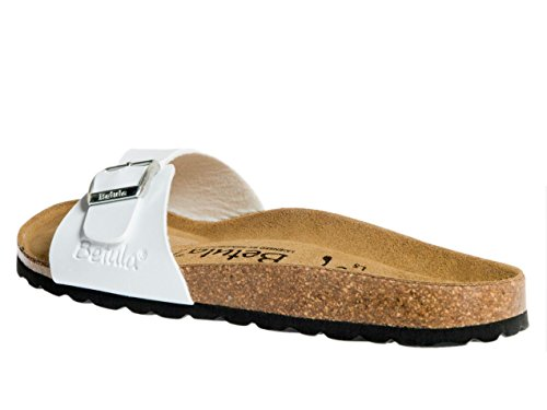 Betula by birkenstock - Luca bf blanc mat - Claquettes mules Blanc