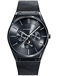 Reloj Viceroy Caballero 42245-57 Fase Lunar Malla Milanesa