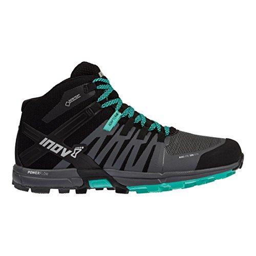 INOV8 ROClite 320 GTX femmes adaptation standard chaussures Course randonnée/Bottes noires/ gris/ teal noir/gris / teal
